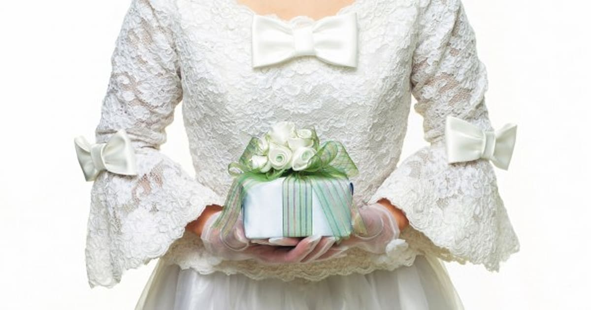 Presents The Bride Is Expected To Give At Her Wedding Huffpost