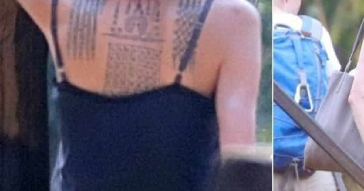 Angelina Jolie A Trois Nouveaux Tatouages Et Ils Ne Sont Pas