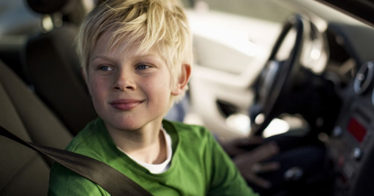 When Can Kids Sit In The Front Seat Of A Car