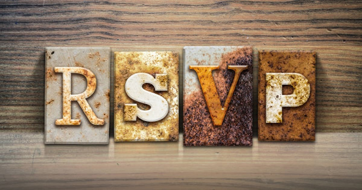 What Does Rsvp Truly Mean Huffpost Canada