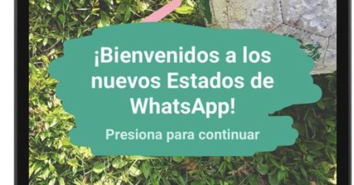 Los Nuevos Estados De Whatsapp Fotos Textos Emojis Videos Y
