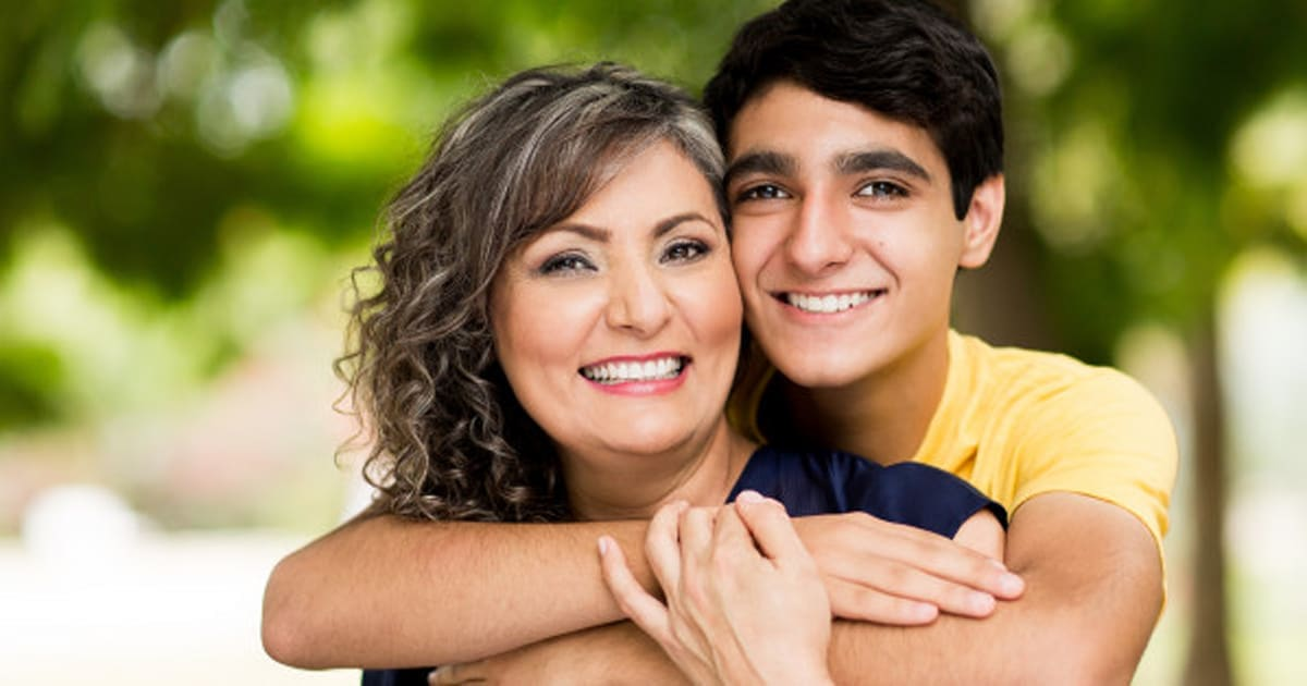 mother and son dating each other