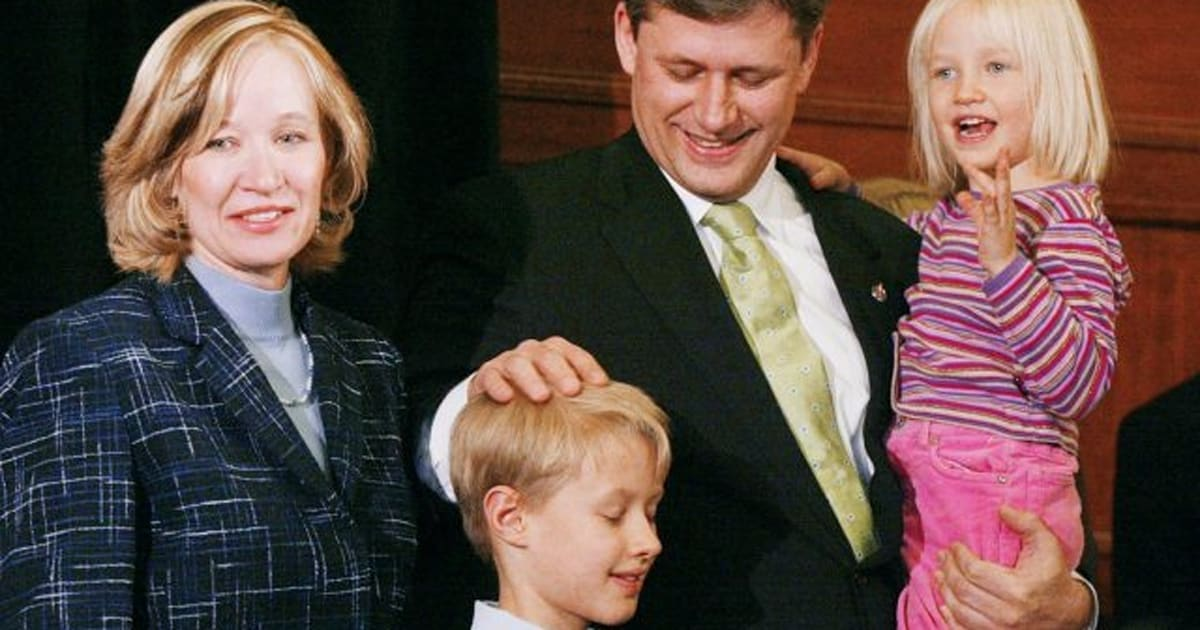 Stephen Harper\'s Children Then And Now (PHOTOS, VIDEO) | HuffPost Canada