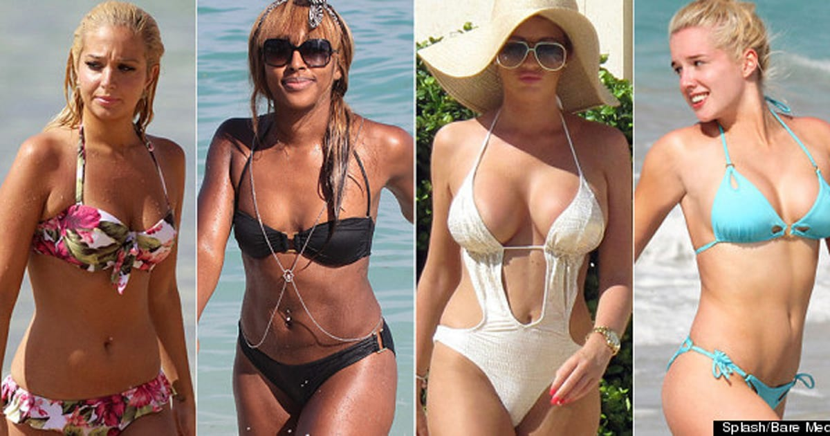 Beach Babes: 100 Hot Celebrity Bikini Bodies (PICTURES)