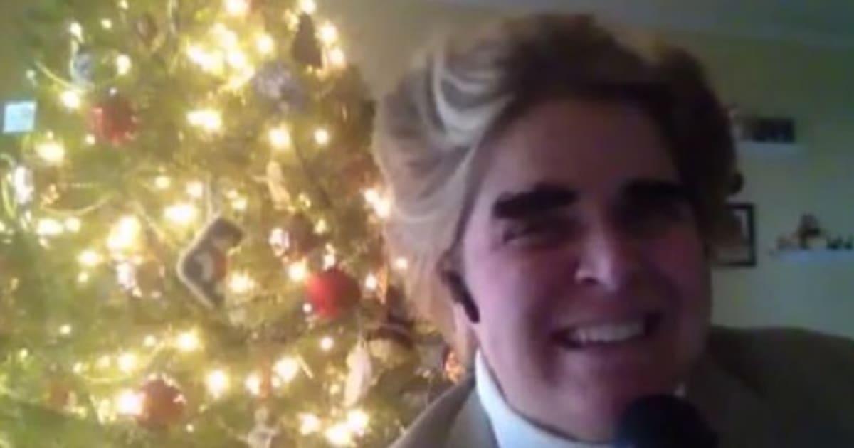 Momo Fali Singing Christmas Songs As Johnny Mathis Will Make You ...