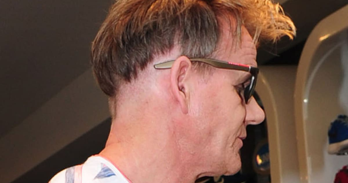 Gordon Ramsay Shows Off Bizarre New Haircut During London Shopping