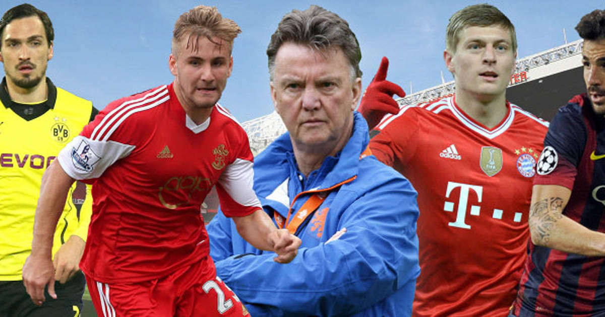 Louis Van Gaal: Manchester United's 10 Potential Transfers