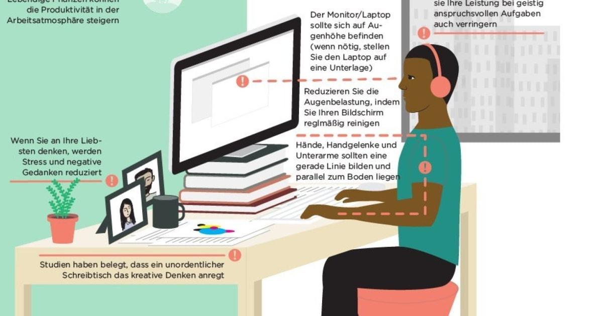 Ergonomie und optische Reize: Wie Sie Ihren Arbeitsplatz optimal ...