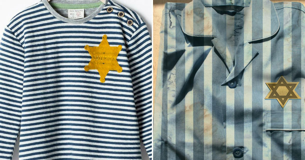 Zara Pulls Striped 'Sheriff' Shirt After 'Holocaust Design