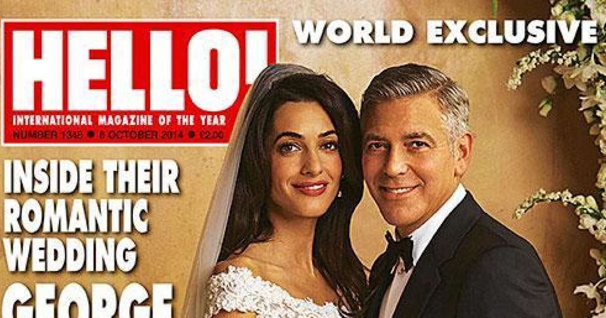 George Clooney Wedding Photos: Amal Alamuddin's Dress