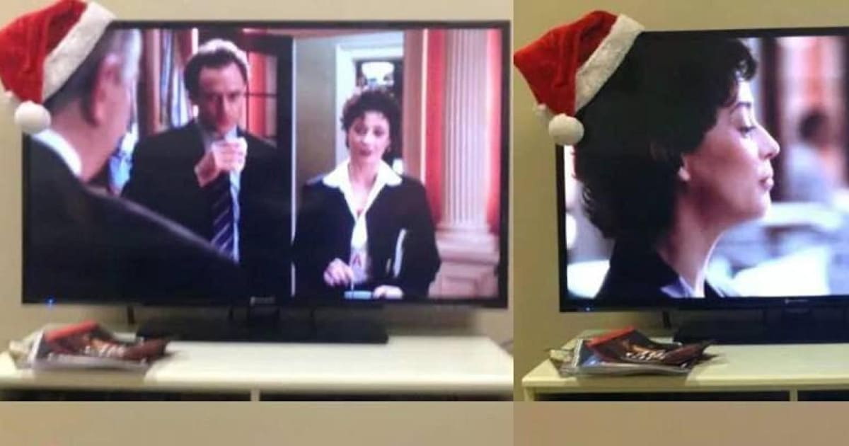 2fad81a3aaf2c This Santa Hat Drinking Game Is Guaranteed To Improve Your Christmas TV  Viewing Experience