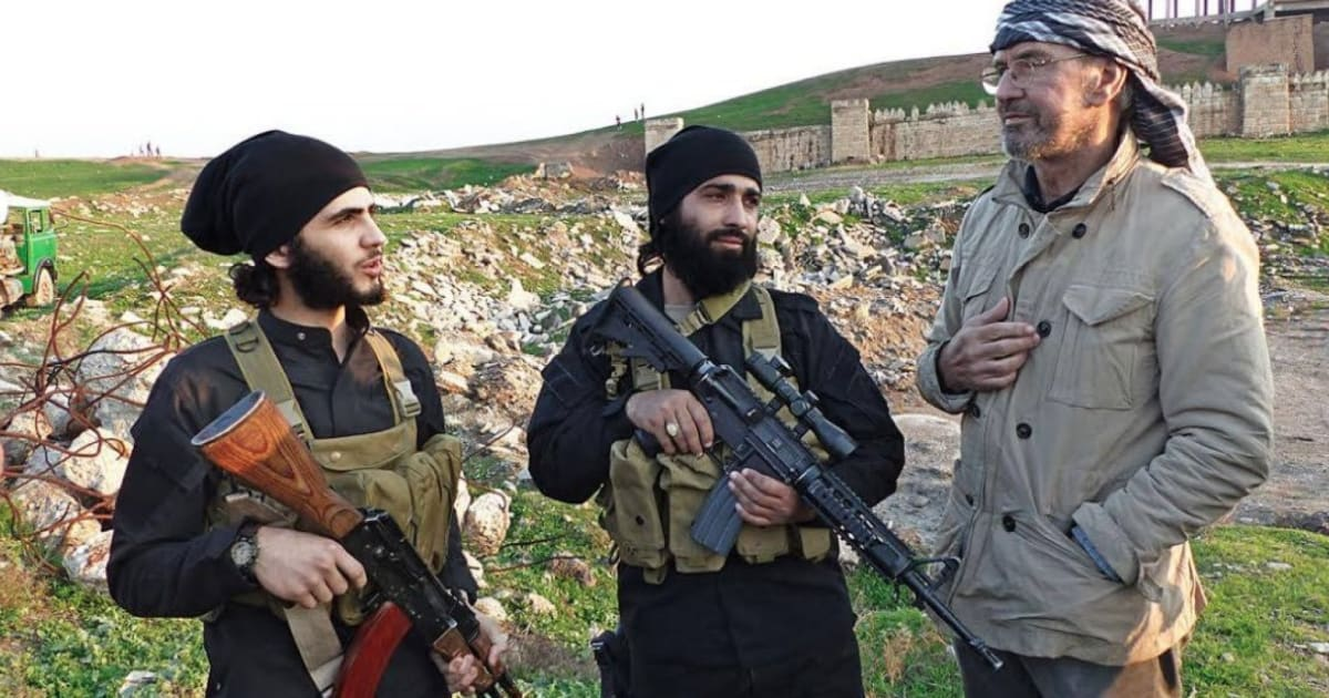 reporter jrgen todenhfer was embedded with islamic state he came back alive - Jurgen Todenhofer Lebenslauf