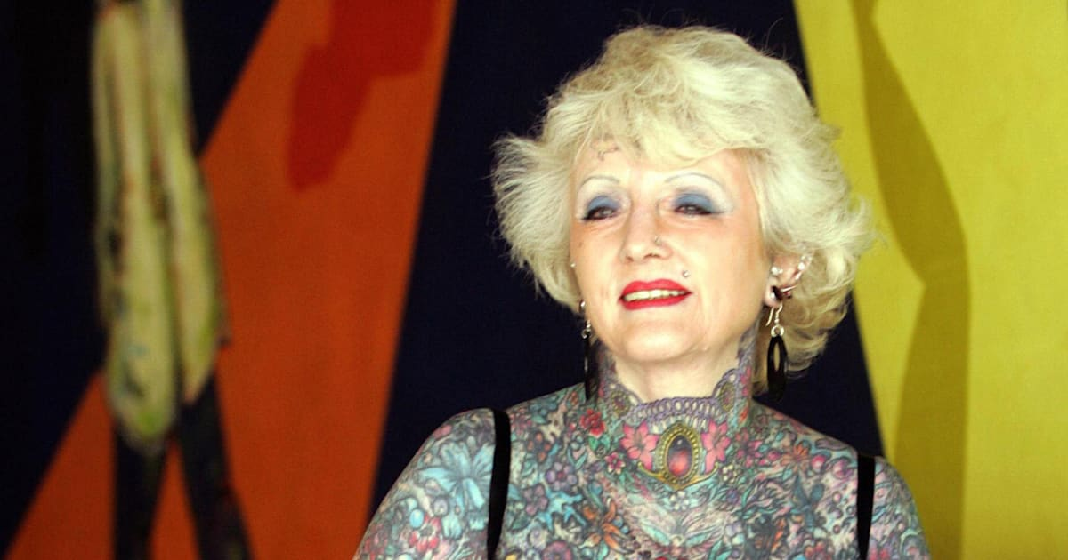 e338209ff Isobel Varley, World's Most Tattooed Female Senior, Remembered | HuffPost  Canada