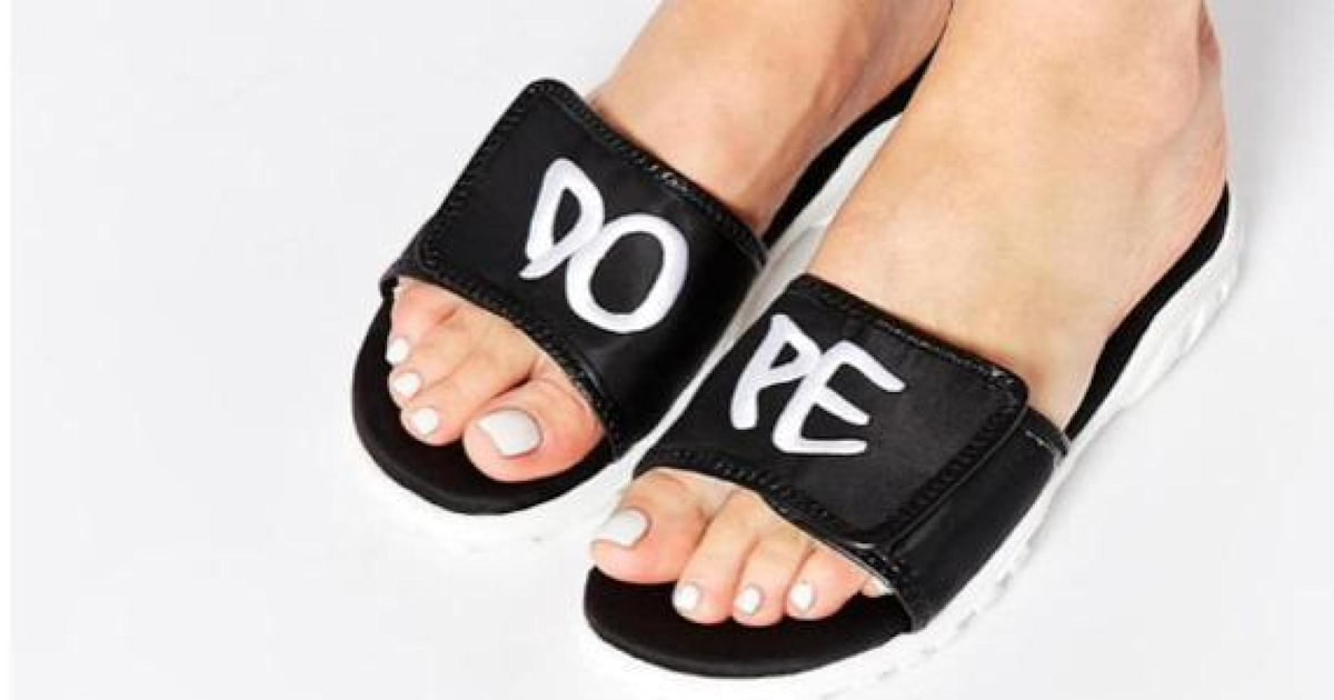 61bb847a859815 ASOS  Dope  Sandals Probably Weren t Thought Through Fully