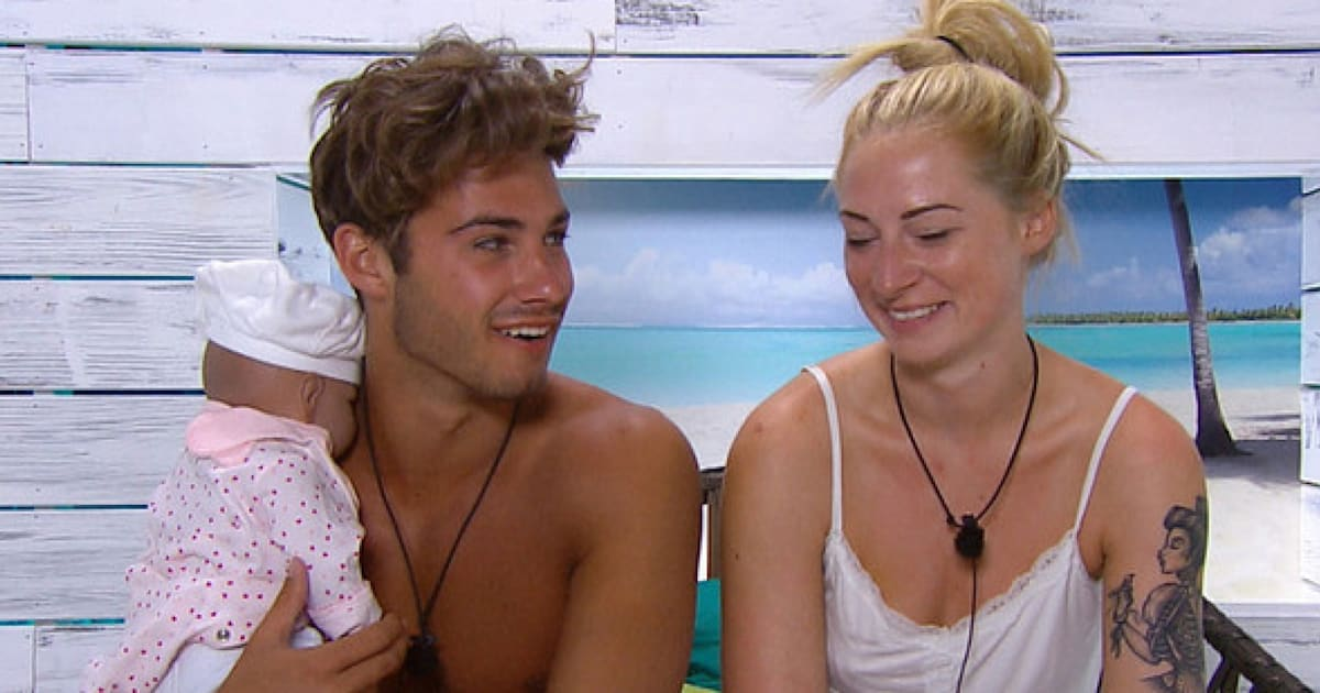 love island 39 contestants left holding the baby in latest task as mark wright arrives for. Black Bedroom Furniture Sets. Home Design Ideas