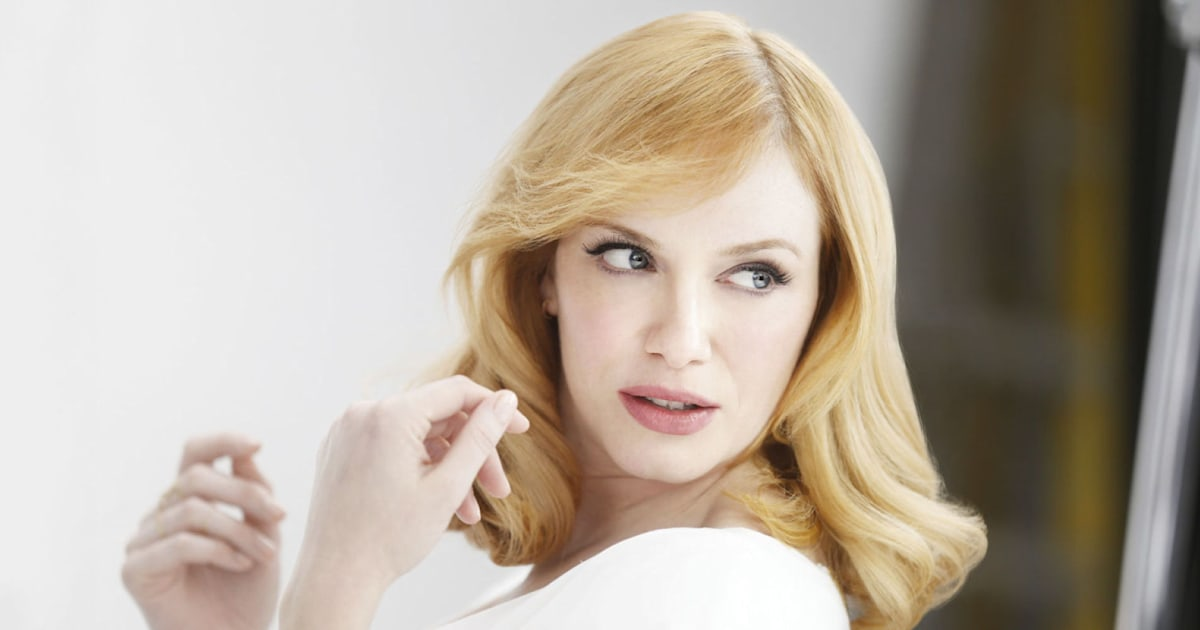 Christina Hendricks Clairol Blonde Advert Banned For Being Misleading