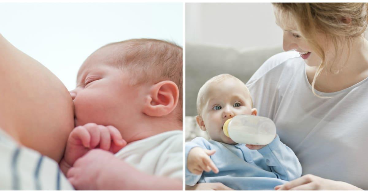 Breastfeeding And Bottle Feeding Make Babies Obese Studies