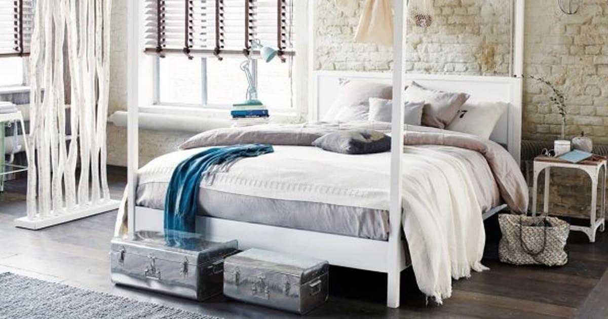 10 id es pour booster la d co de sa chambre coucher al huffpost maghreb. Black Bedroom Furniture Sets. Home Design Ideas