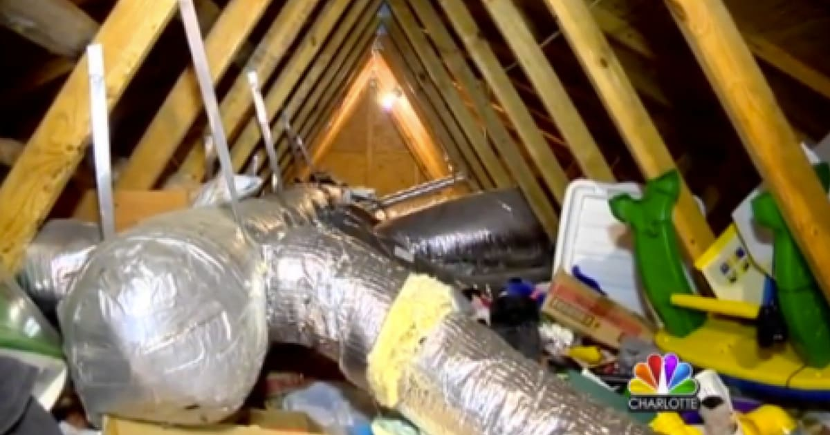 Woman Finds Ex Boyfriend Living In Her Attic Over 12 Years