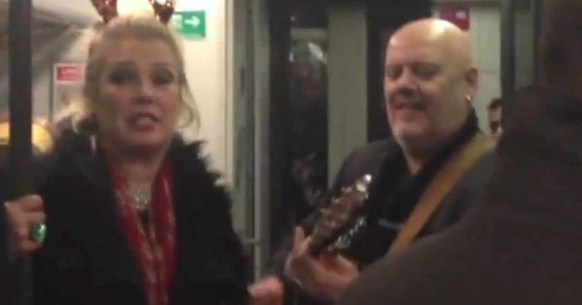WATCH: Kim Wilde Gives Tube Passengers A Treat With A Merry ...