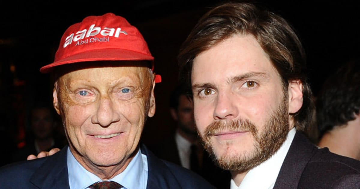 Niki Lauda And 'Rush' Star Daniel Brühl On Cheating Death ...