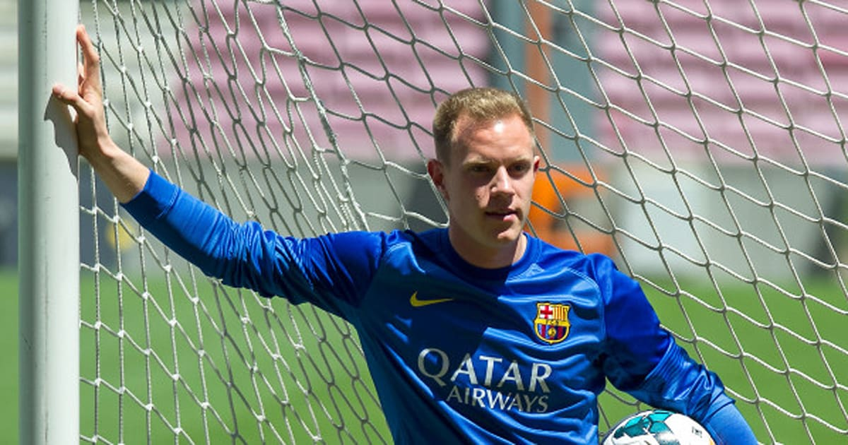 Marc-André Ter Stegen Unveiled By Barcelona (PICTURES