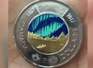 Canadian Glow-In-The-Dark Toonie Is So