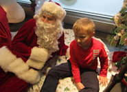 Man With Autism Offers Sensory Friendly Santa Visits So No Kid Misses