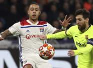 Pendant Lyon - Barcelone, plusieurs joueurs lyonnais