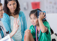 New Guidelines For Kids' Concussion Recovery Ease Burden For Doctors,