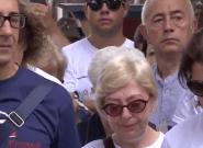 À Gênes, un mois jour pour jour après le drame, les habitants ont respecté une minute de