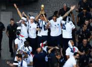 La rencontre entre les Bleus et les Français n'a pas eu lieu sur les Champs-Elysées... mais sur les réseaux