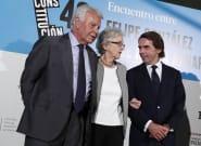 El 'reencuentro' de González y Aznar: el 'orgullo' del 78,