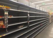Avant l'ouragan Florence, les rayons des magasins littéralement pris