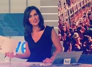 El piropo que ha dejado con esta cara a la presentadora del 'Telediario' de