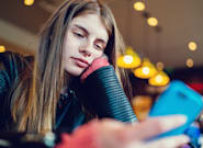 Teenagers Aren't Getting Enough Sleep Because They're Addicted To