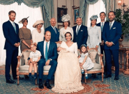 Prince Louis' Christening Photos Show Off A Very Happy Royal