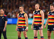 The Adelaide Crows Staring Down Opponents During The National Anthem Is Not A