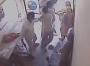WATCH: Two Women Staffers Brilliantly Fight Off Armed Robbers In Gurgaon
