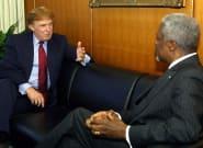 Mort de Kofi Annan: Donald Trump donnait son avis sur lui dans un livre sorti en 2005 (et ce n'était pas
