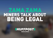 Former 'Zama Zama' Miners Happy To Be Legal In The Diamond
