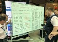 Aéroport de Londres-Gatwick: après une panne, les tableaux blancs de sortie pour afficher les