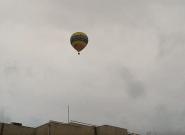 Tres heridos, entre ellos un cámara de TVE, en un accidente de globo en