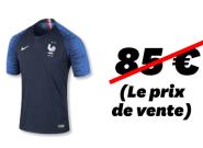 Maillot de l'Équipe de France à 2 étoiles: Combien coûte vraiment la fabrication de la