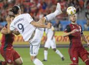 Los Angeles Galaxy: Le but d'extraterrestre de Zlatan Ibrahimovic pour sa 500e réalisation chez les