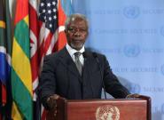 Kofi Annan, ancien secrétaire général de l'ONU, est