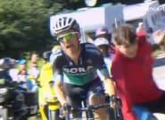 Étape 15 du Tour de France 2018: Rafał Majka évite de peu un