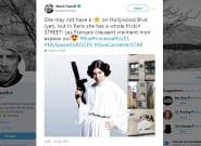 Mark Hamill applaudit l'hommage à Carrie Fisher et à Star Wars dans la rue princesse à