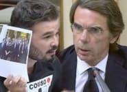 El vídeo completo de la bronca entre Aznar y