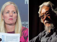 Catherine McKenna Shoots Down David Suzuki's Call For Her To